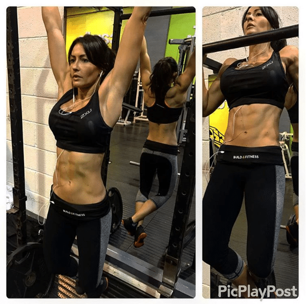 Katie Cork Toned Stomach