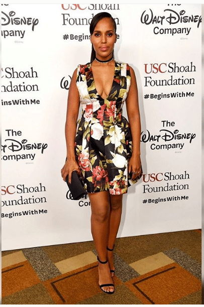 Kerry Washington Female Shoulders