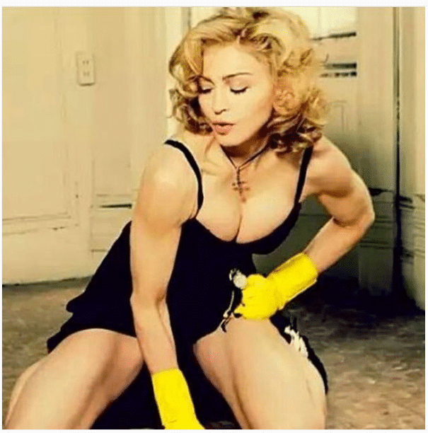 Madonna Female Shoulders