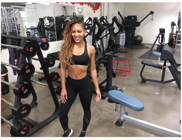 Meagan Good How to Get a Toned Stomach