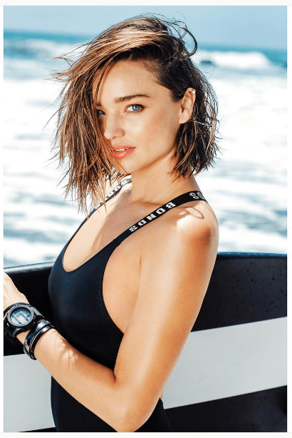 Miranda Kerr Female Shoulder Workout