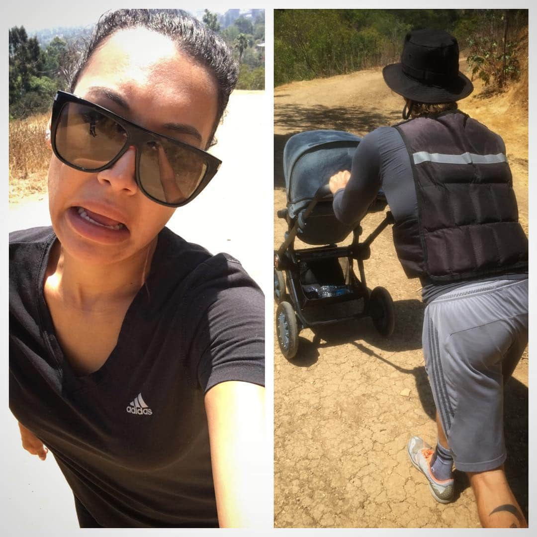 Naya Rivera How to Strengthen Your Neck