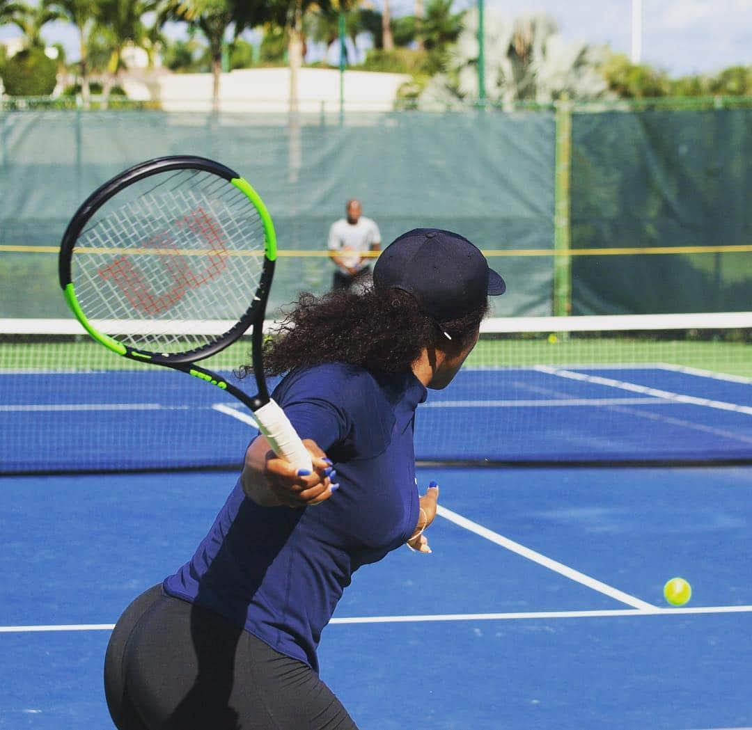 Serena Williams Gluteus Medius Exercises
