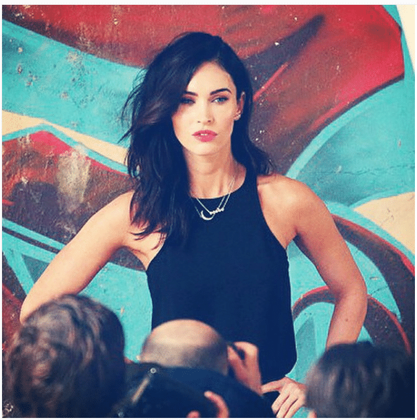 Megan Fox Women's Shoulder Workouts