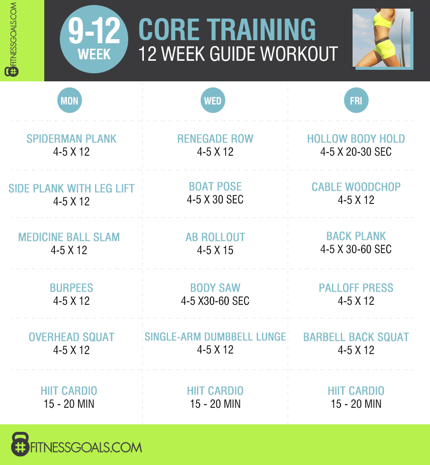 core training 9-12