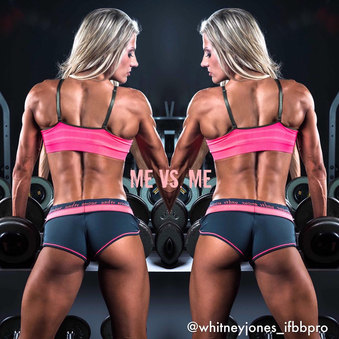 whitney jones Middle Back Workout Routine