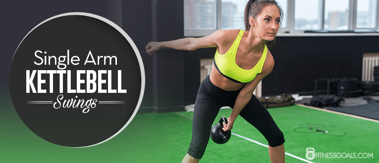 Single Arm Kettlebell Swings