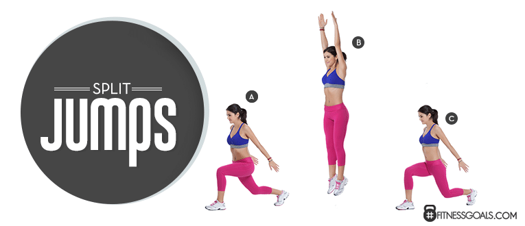 Split Jumps Good Leg Workouts