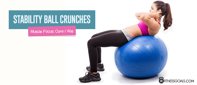 Stability Ball Crunches