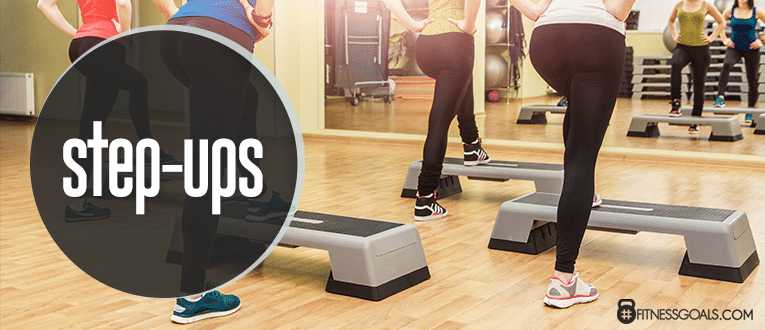 Step Ups Leg Workouts for Women