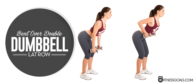 Bent Over Double Dumbbell Lat Row
