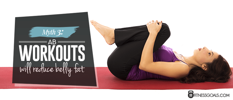 Myth 3: Ab Workouts Will Reduce Belly Fat