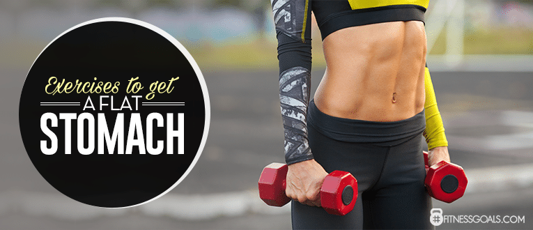 How to Get a Flat Belly with Exercise