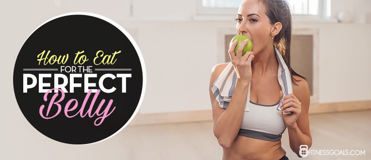 how to get flat abs and belly for women
