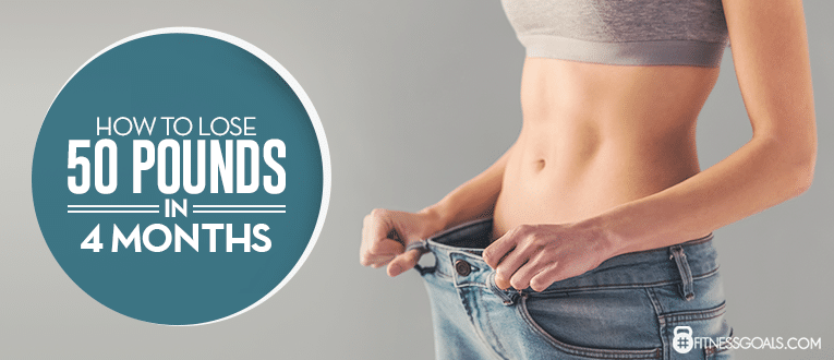 How to Lose 50 Pounds in 4 Months