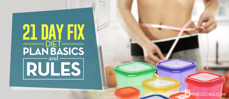 21 Day Fix Diet Plan Basics and Rules