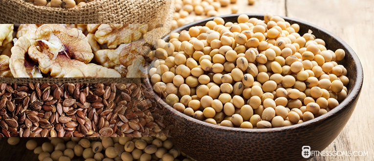 Ensure you Eat Plenty of Soy, Walnuts, and Flaxseed